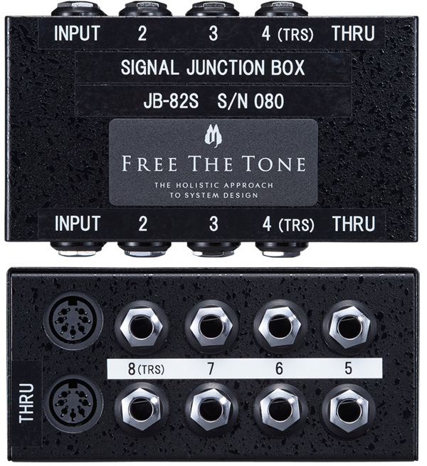 FREE THE TONE フリーザトーン Signal Junction Box JB-82S 【送料無料】