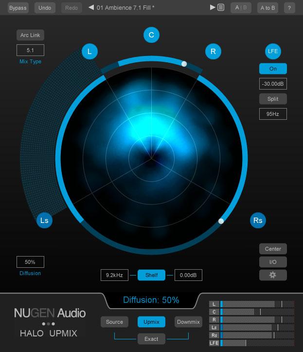 Nugen Audio Halo Upmix【ダウンロード版パッケージ】【送料無料】