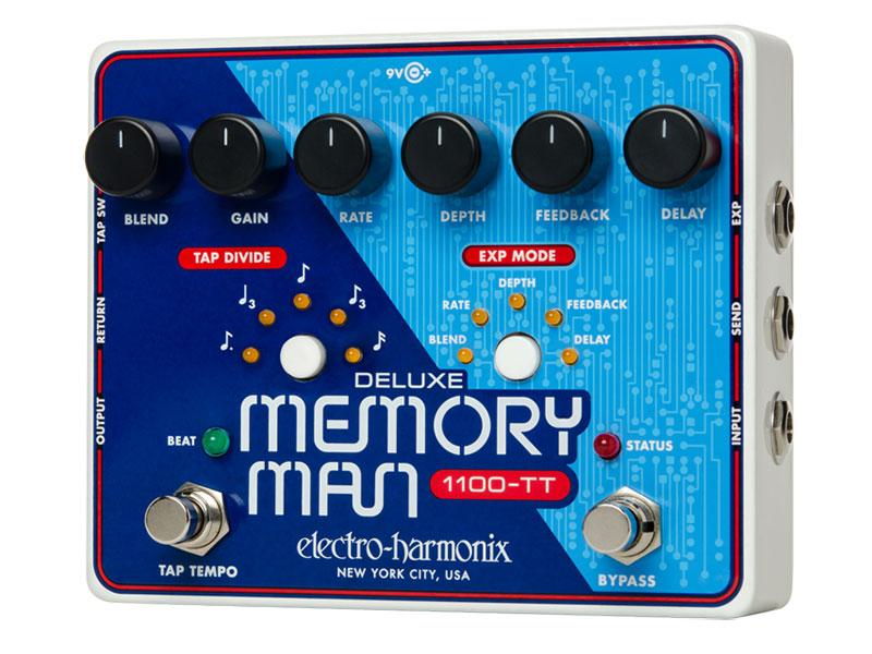【超ポイントバック祭】 electro-harmonix Deluxe Memory electro-harmonix Man Deluxe 1100TT Analog Delay 1100TT【送料無料】, アラモードキムラ:b8769ba9 --- clftranspo.dominiotemporario.com