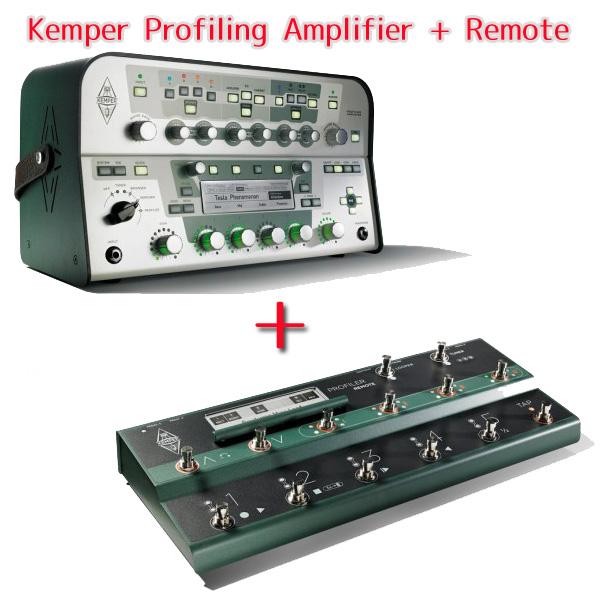 Kemper Profiling Amplifier White + Remote セット 【送料無料】