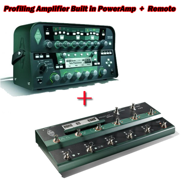 Kemper Profiling Amplifier Built in PowerAmp + Remote セット【送料無料】