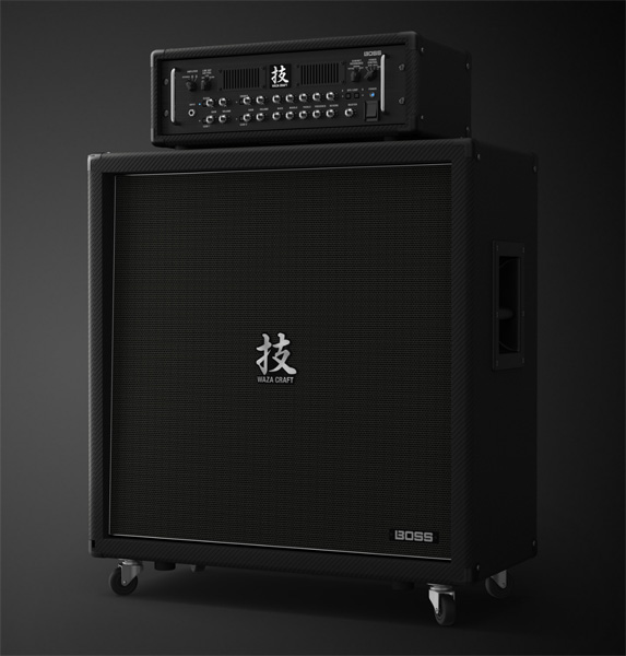 BOSS ボス ギターアンプ ヘッド + キャビネット WAZA-HEAD + WAZA-CABINET412【送料無料】