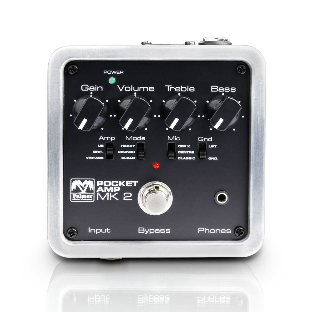 Palmer Pocket Amp MK2: Portable Guitar Preamp with DI-Out【送料無料】