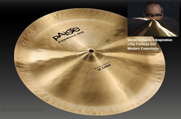 PAISTE Formula 602 Modern Essentials (Essectials) China 18″【送料無料】