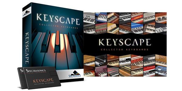 【SEAL限定商品】 Spectrasonics Keyscape Keyscape (USB Drive)【送料無料 (USB Spectrasonics】, Authentic Gallery ark:964598db --- ejyan-antena.xyz