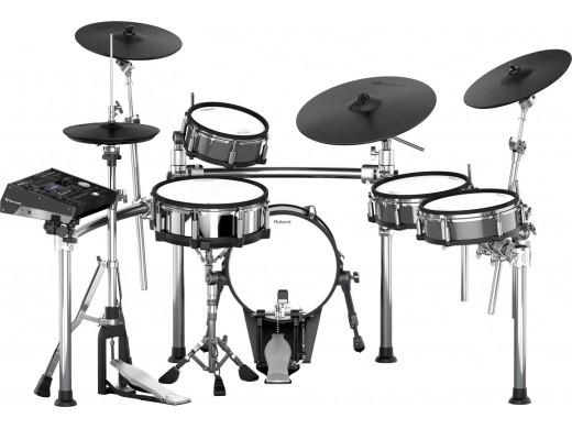 電子ドラム ローランド Roland V-Drums TD-50KV-S(TD-50KV+MDS-50KV+KD-140-BC set)※画像のドラムペダルは別売りです。【送料無料】