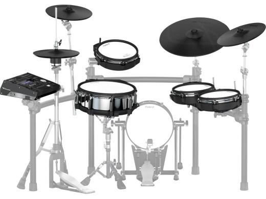 電子ドラム V-Drums 電子ドラム ローランド Roland V-Drums TD-50K(画像のMDS-50K、KD-120BK、ハイハットスタンド Roland、スネアスタンド、ペダルは別売りになります。)【送料無料】, ニューヨークからの贈り物:181ea612 --- marellicostruzioni.it