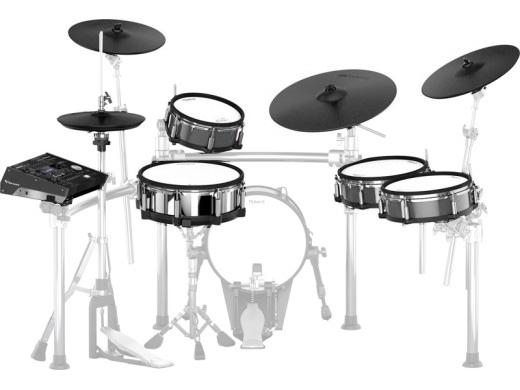 電子ドラム ローランド Roland V-Drums TD-50KV(画像のMDS-50KV、KD-140-BC、ハイハットスタンド、スネアスタンド、ペダルは別売りになります。)【送料無料】