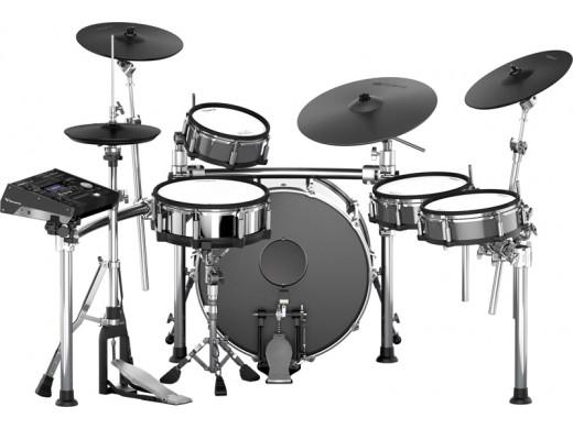 電子ドラム ローランド Roland V-Drums TD-50KV with KD-A22 with MDS-50KV(画像のKD-A22用の22インチ・バスドラム・シェル、キック・ペダル、ドラム・スローンは製品に含まれません。)【送料無料】