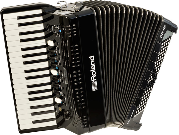 Roland ローランド V-Accordion FR-4X BK【送料無料】