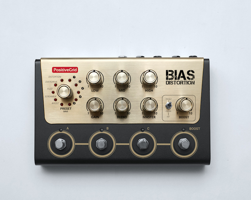 Positive Grid BIAS Distortion 【送料無料】