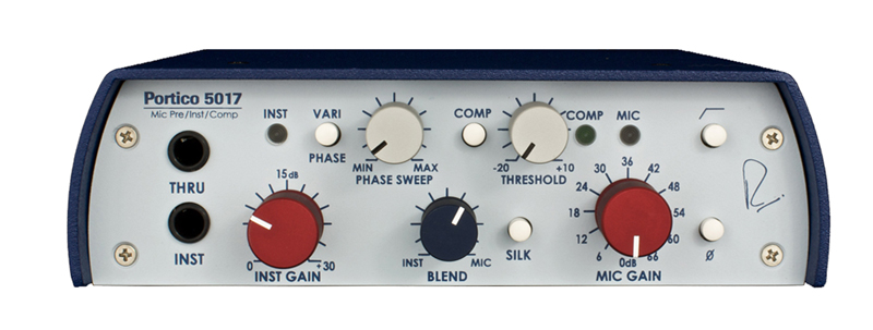 Rupert Neve DesignsPortico 5017 Mobile DI/Pre/Comp with Variphase【送料無料】【 RECORDING EFFECTOR 】