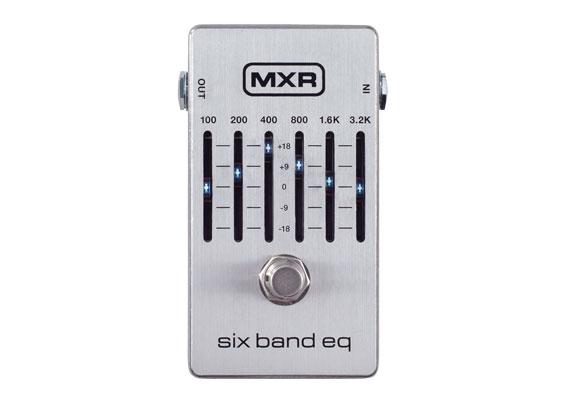 MXR M109S Six Band Graphic EQ
