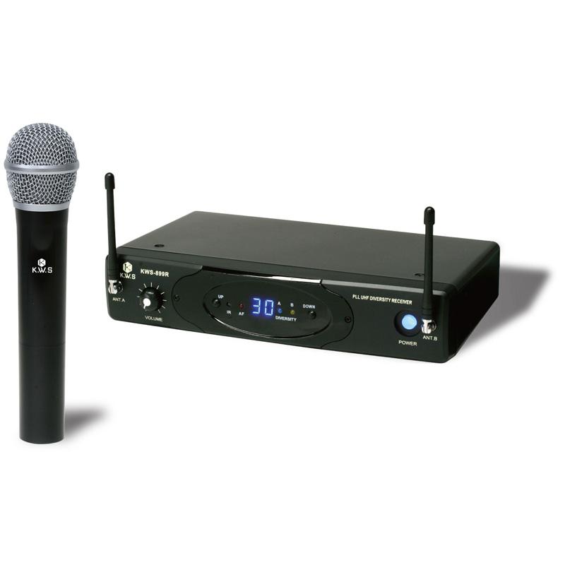 K.W.S ワイヤレスシステム KWS-899H/H ハンドマイクシングルタイプ【送料無料】