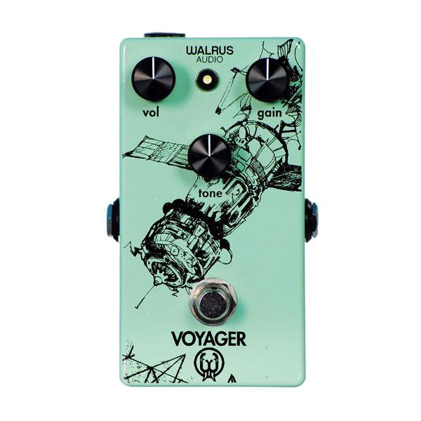 Walrus Audio VOYAGER Pre Amp / Overdrive【送料無料】