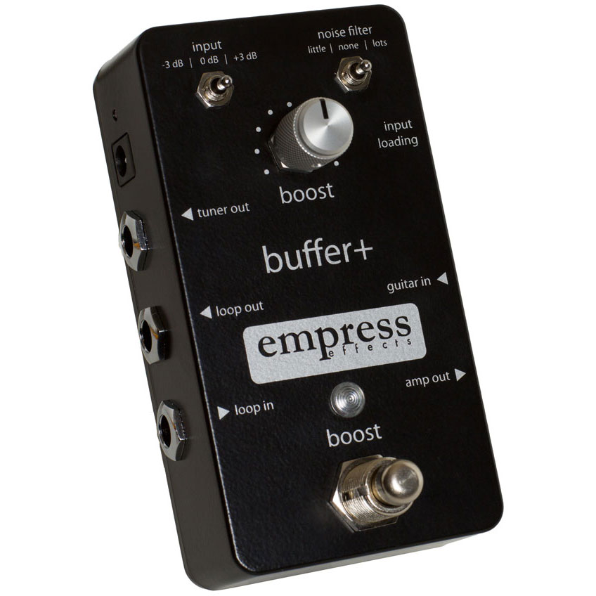 Empress Effects buffer+ Buffer/Booster/Noise reduction Guitar Pedal【送料無料】