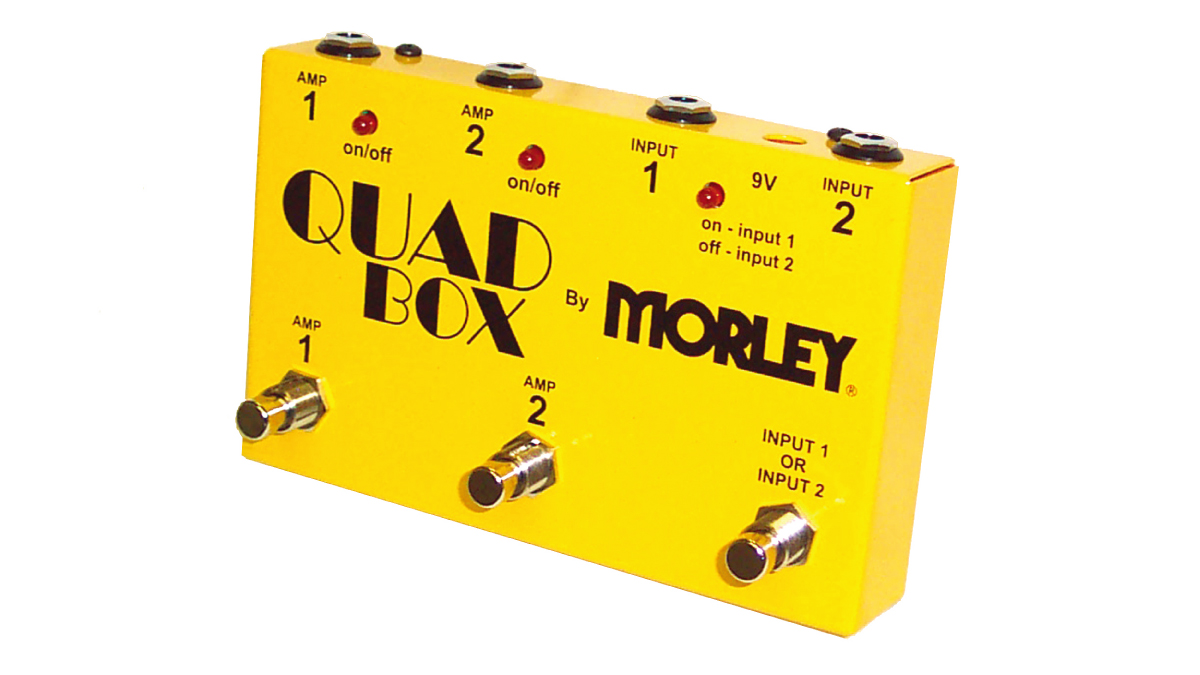MORLEY 2in/2outセレクター QUAD BOX