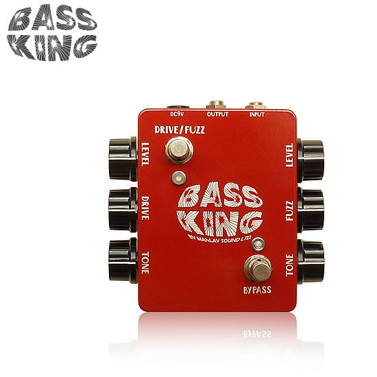 Manlay Sound BASS KING / Overdrive/Fuzz for Electric Bass【送料無料】