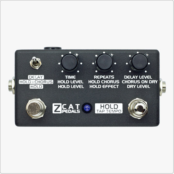 ZCAT PEDALS Hold-Delay-Chorus【送料無料】