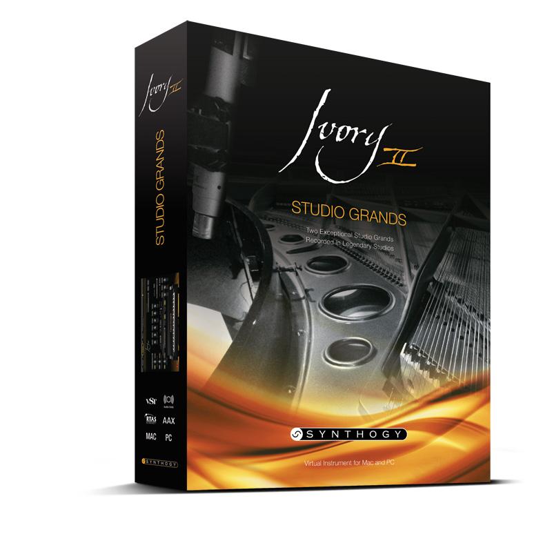 Synthogy Ivory ll Studio Grands(USBインストーラー入りボックス版)【送料無料】