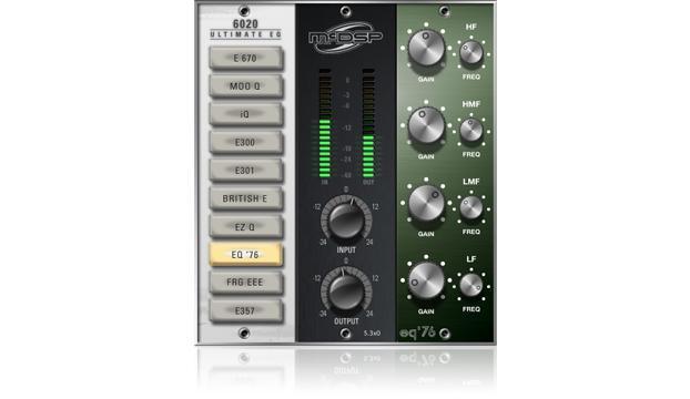 MCDSP 6020 Ultimate EQ HD v6【送料無料】【ダウンロード販売】