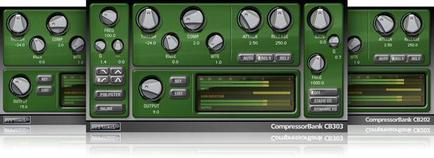 MCDSP Compressor Bank HD v6【送料無料】【ダウンロード販売】