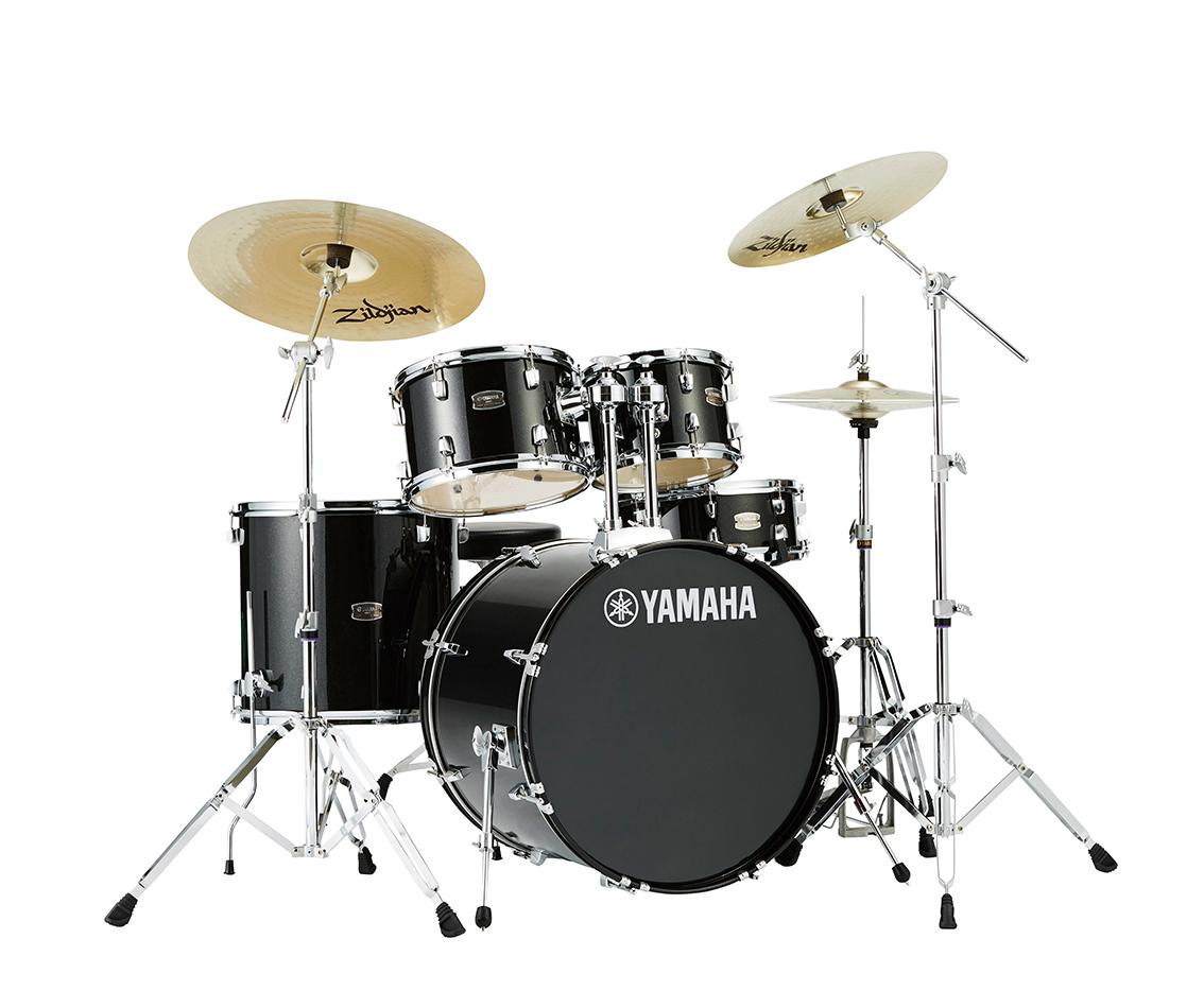 YAMAHA ドラムセット RYDEEN スタンダードセット RDP0F5STD ブラックグリッター:BLG【送料無料】