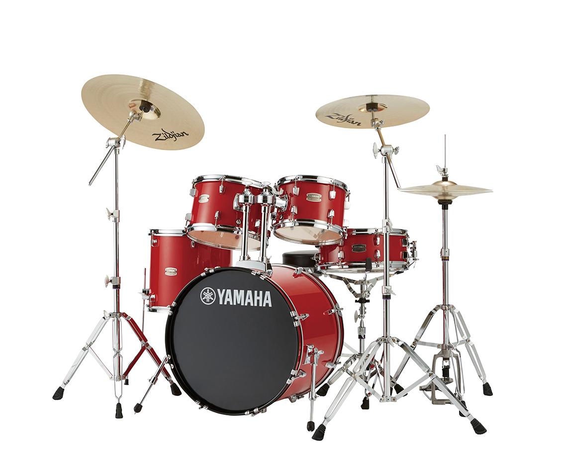 YAMAHA ドラムセット RYDEEN スタンダードセットRDP2F5STD ホットレッド:RD【送料無料】