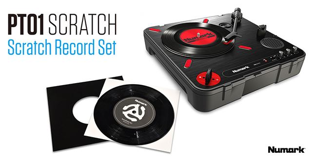 Numark PT01 Scratch SCRATCH RECORD SET【送料無料】