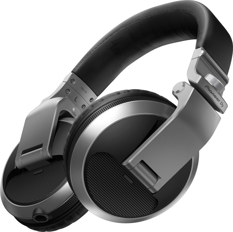 Pioneer DJ パイオニア ヘッドホン HDJ-X5-S(シルバー)