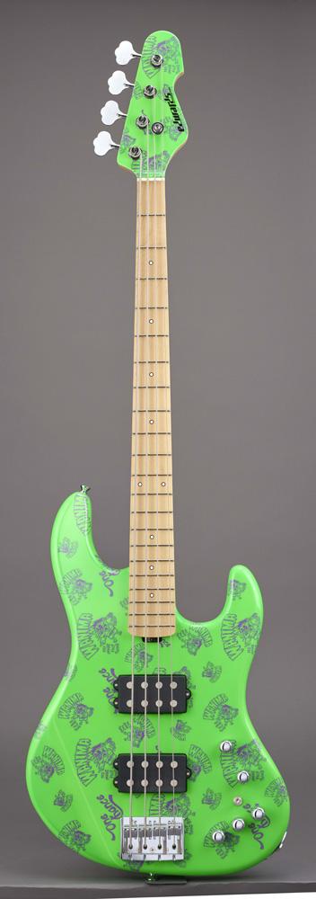 エドワーズ エレキベース EDWARDS Artist Series E-助平 Green KENTA Model【送料無料】【受注生産品 納期4~6ヶ月位 ご予約受付中】【受注生産品につき代引不可】