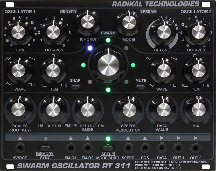 【メーカー再生品】 Radikal Technologies Technologies RT-311 Swarm Swarm RT-311 Oscillator【送料無料】, アンの部屋:6d06b5a7 --- bibliahebraica.com.br
