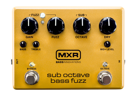 MXR M287 Sub Octave Bass Fuzz 【送料無料】
