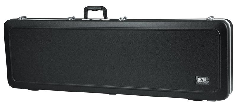 GATOR GC-BASS-LED LEDライト付き 耐衝撃性ABSプラスチック外装ベースケース エレキベース用【送料無料】