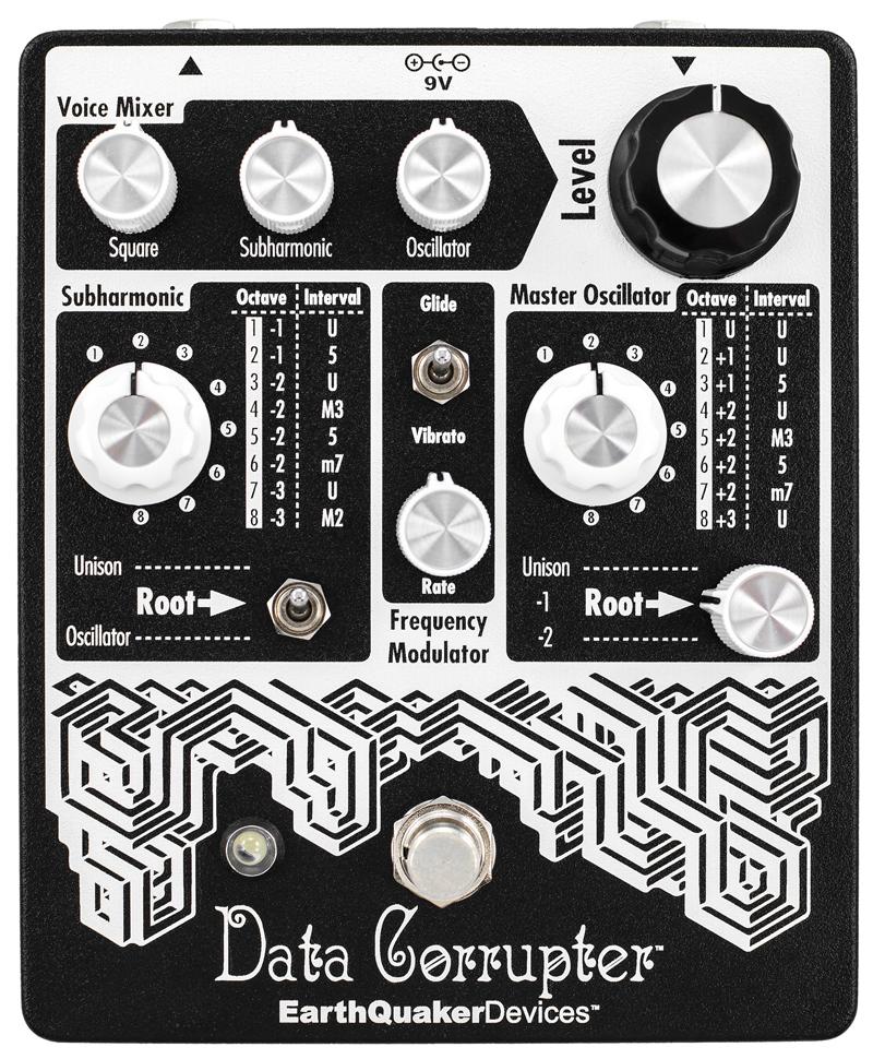 EarthQuaker Devices / Data Corrupter Mod Mono PLL Harmonizer 【送料無料】