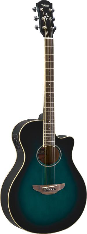 【次回入荷分予約受付中】YAMAHA ヤマハ アコースティックギター エレアコ APX600 OBB(オリエンタルブルーバースト)【送料無料】