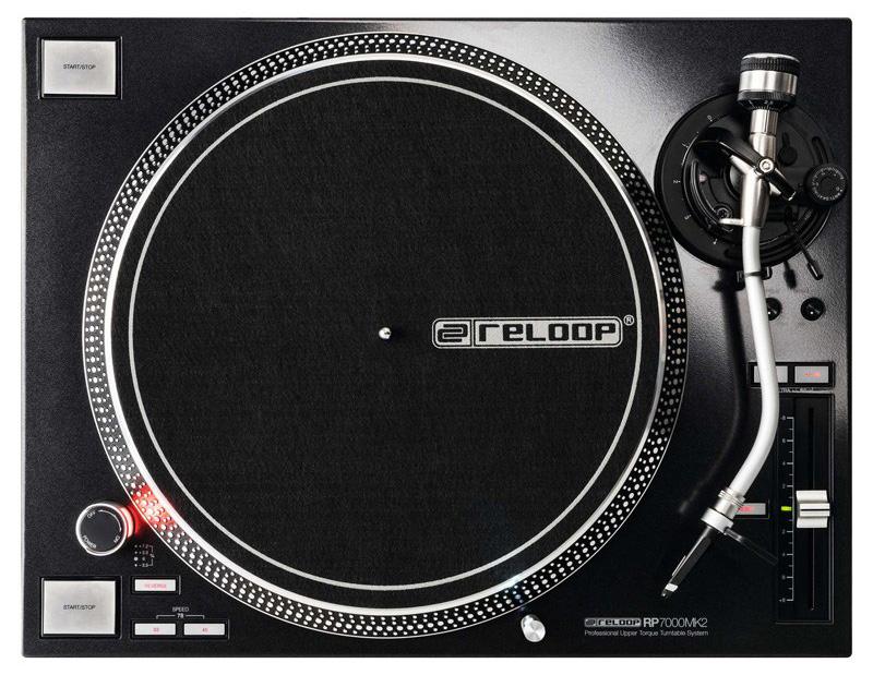 RELOOP RP-7000 MK2 BLACK<BR>【送料無料】