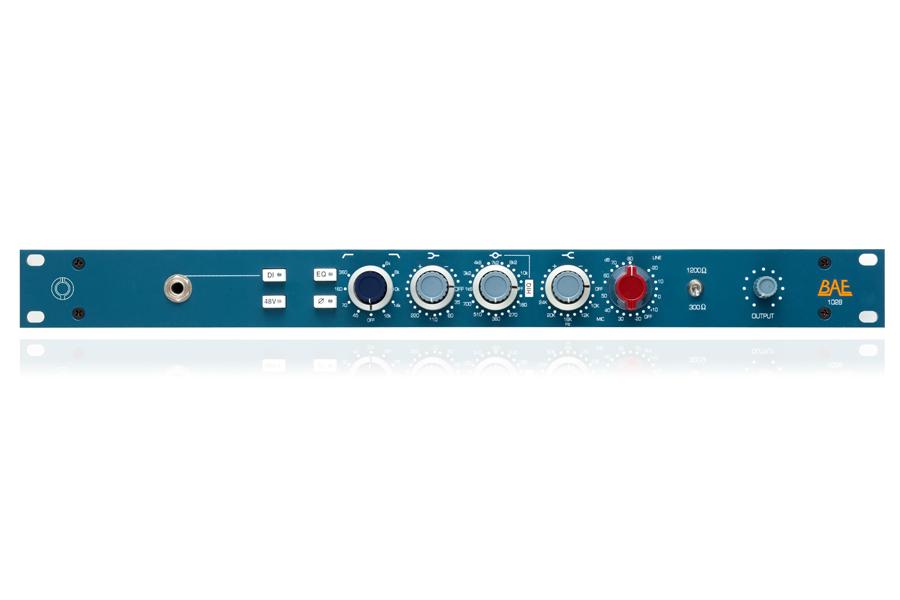 BAE Audio BAE 1028 -1ch Mic Preamp / EQ / DI-【RECORDING PRE AMP】【送料無料】