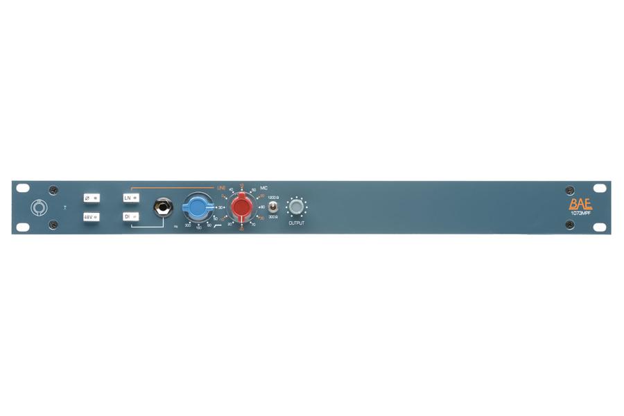 BAE Audio BAE 1073MPF 1CH -1ch Mic Preamp / EQ / DI-【RECORDING PRE AMP】【送料無料】