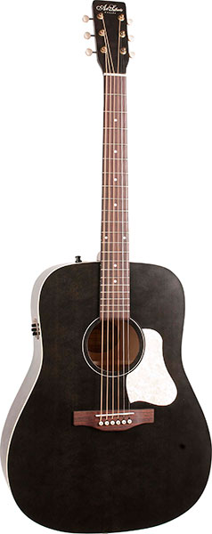 Art&Lutherie Americana Faded Black Q1T【ギグバック付き】【送料無料】