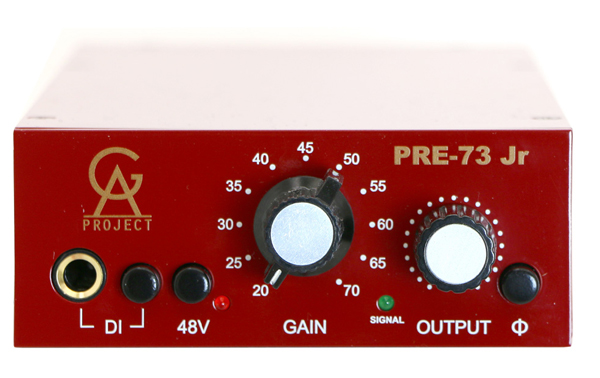 Golden Age Project (GAP) PRE-73 Jr Vintage Neve Style Mic Pre Amp【送料無料】