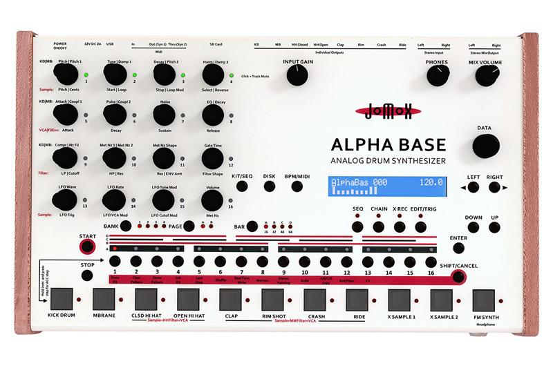 Jomox Alpha Base アルファベース【送料無料】