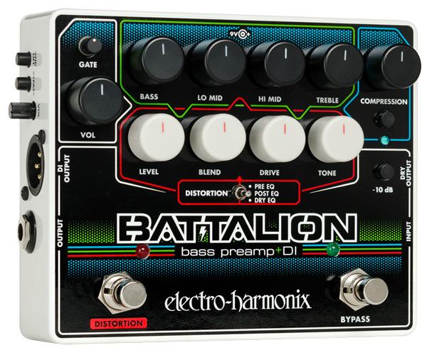 electro-harmonix / Battalion -Bass Preamp & DI-【送料無料】