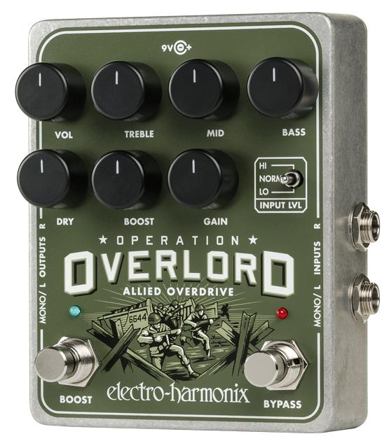 electro-harmonix Operation Overlord -Allied Overdrive-【送料無料】