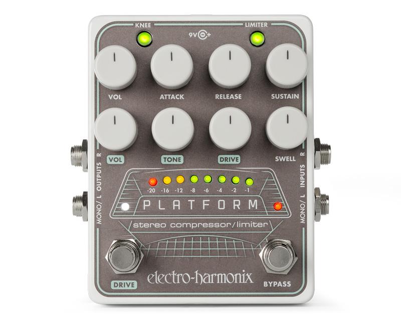 electro-harmonix Platform -Stereo Compressor / Limiter-【送料無料】