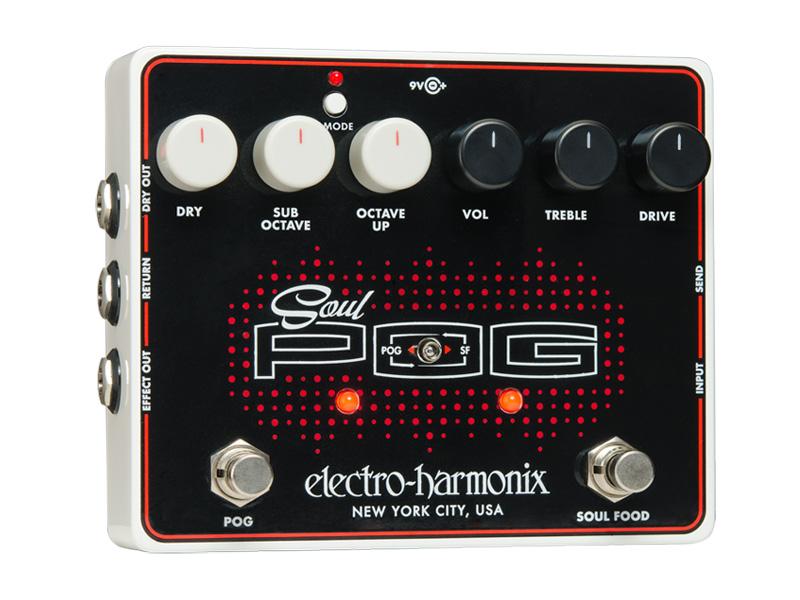 electro-harmonix Soul POG -Multi Effect: Nano POG + Soul Food-【送料無料】