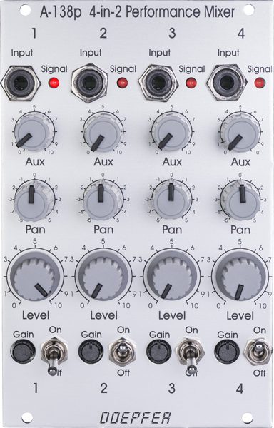Doepfer A-138p Performance Mixer【送料無料】