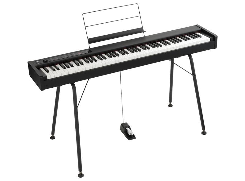 電子ピアノ KORG コルグ DIGITAL PIANO D1 + ST-SV1-BK(スタンド) デジタルピアノ【送料無料(離島を除く)】