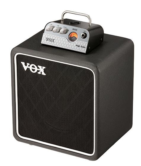 VOX ギターアンプヘッド MV50-HG (High Gain) + BC108 キャビネットセット【送料無料】
