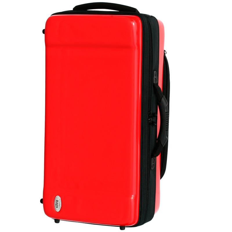 bags トランペット2本用ファイバーケース EC2TRM RED【送料無料】